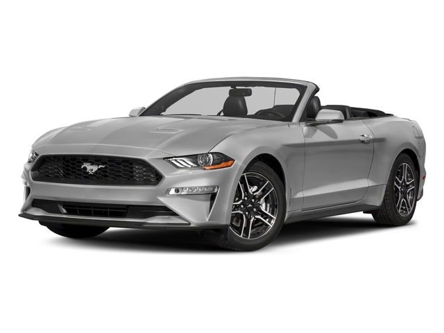 2018 Ford Mustang Base Price Ecoboost Convertible Pricing Side Front View
