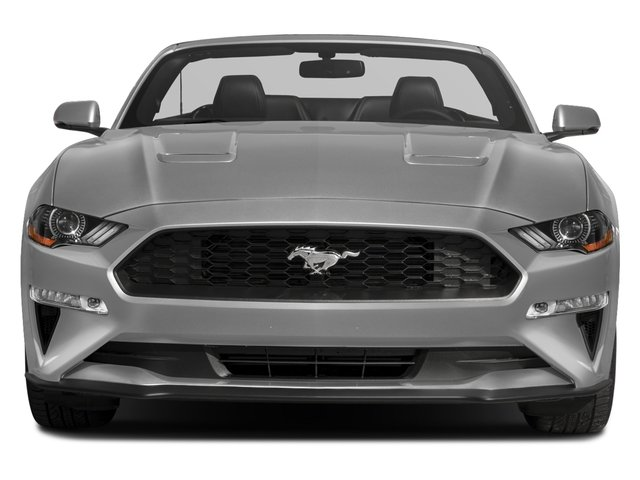 2018 Ford Mustang Base Price GT Premium Convertible Pricing front view