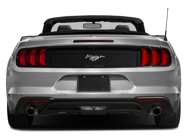 2018 Ford Mustang Base Price GT Premium Convertible Pricing rear view