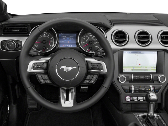2018 Ford Mustang Base Price GT Premium Convertible Pricing driver's dashboard