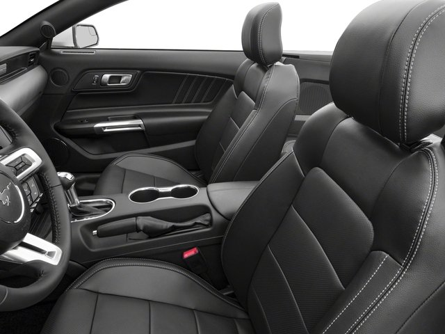 2018 Ford Mustang Base Price GT Premium Convertible Pricing front seat interior