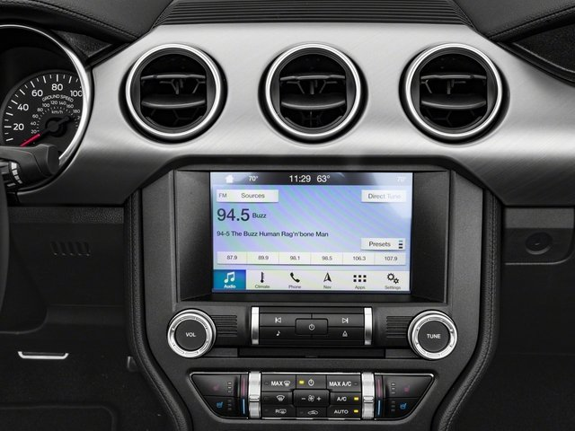 2018 Ford Mustang Base Price GT Premium Convertible Pricing stereo system