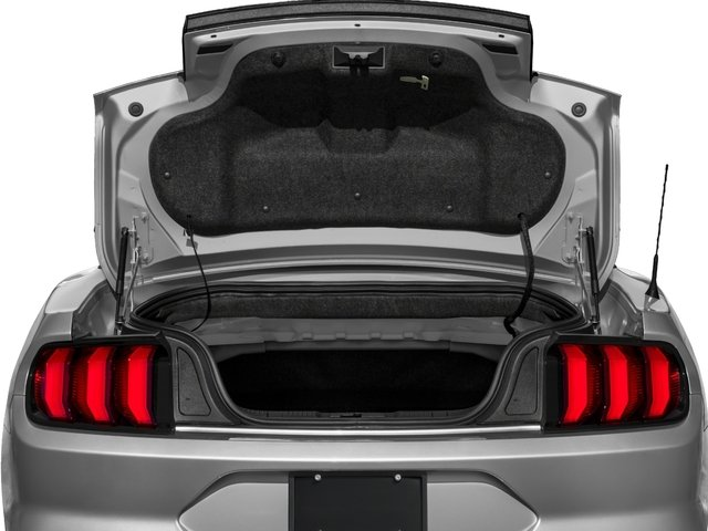 2018 Ford Mustang Base Price GT Premium Convertible Pricing open trunk
