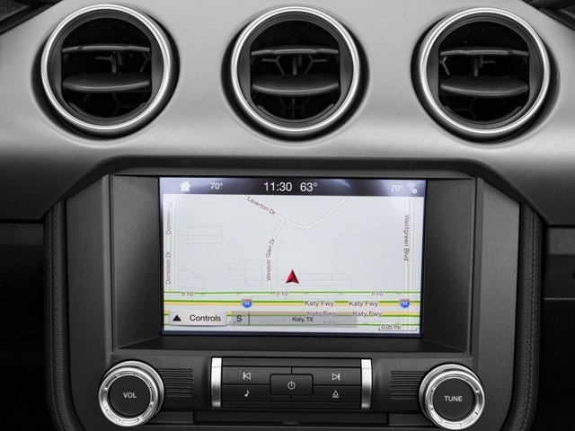 2018 Ford Mustang Base Price GT Premium Convertible Pricing navigation system