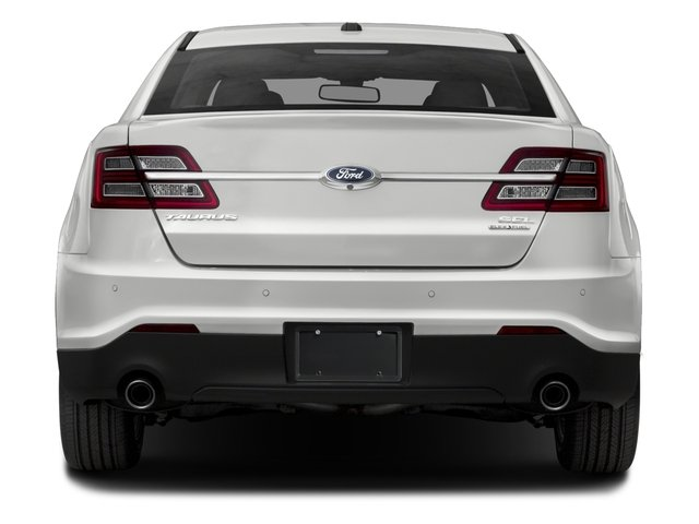 2018 Ford Taurus Pictures Taurus Sedan 4D SEL AWD V6 photos rear view