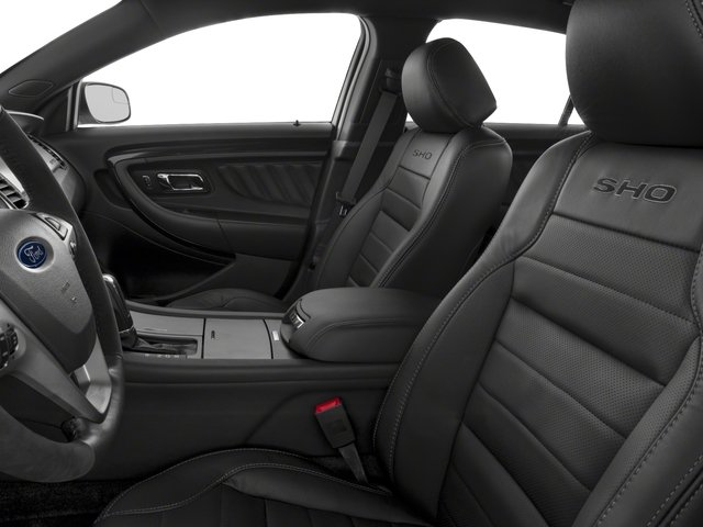 2018 Ford Taurus Base Price SHO AWD Pricing front seat interior