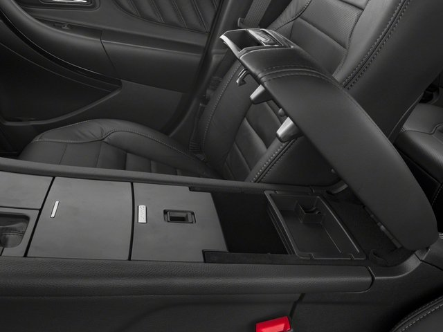 2018 Ford Taurus Base Price SHO AWD Pricing center storage console