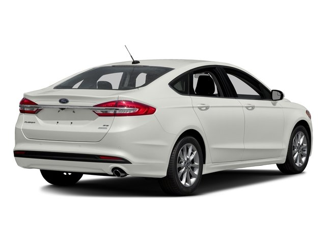 2018 Ford Fusion Pictures Fusion SE FWD photos side rear view