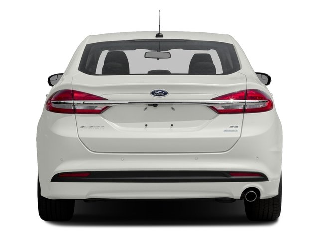 2018 Ford Fusion Pictures Fusion SE FWD photos rear view