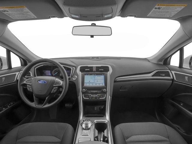 2018 Ford Fusion Pictures Fusion SE FWD photos full dashboard