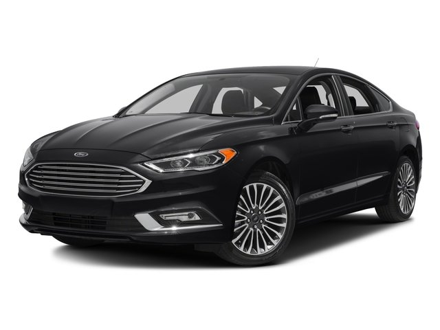 2018 Ford Fusion Base Price Titanium AWD Pricing side front view