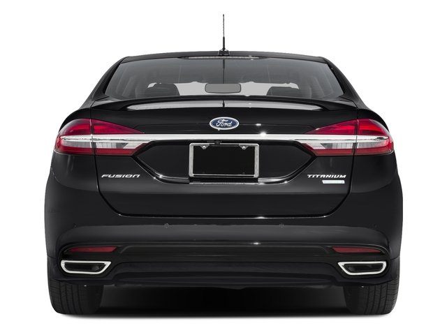 2018 Ford Fusion Base Price Titanium AWD Pricing rear view