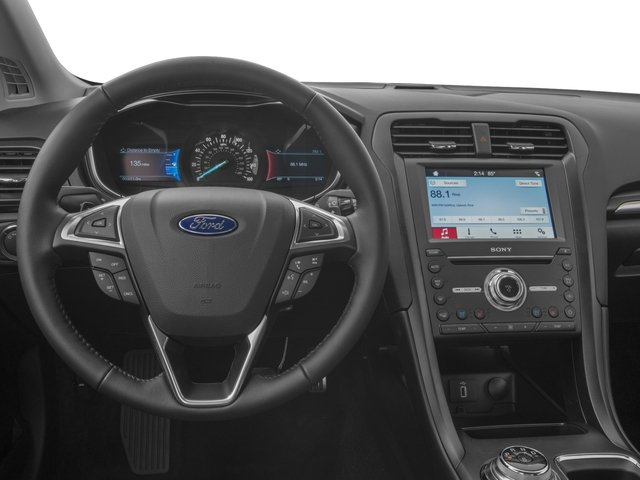 2018 Ford Fusion Base Price Titanium AWD Pricing driver's dashboard