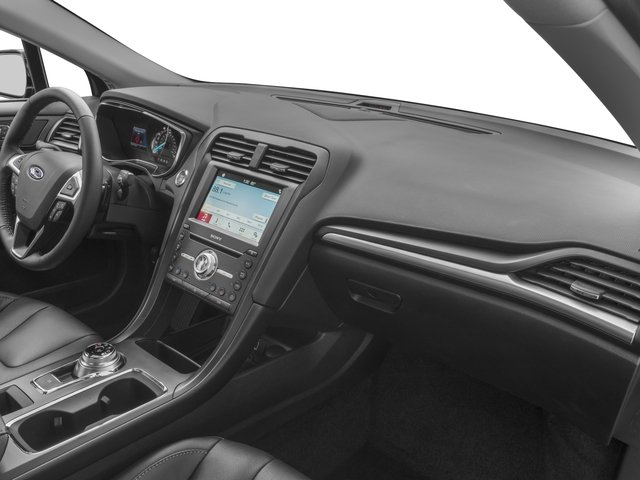 2018 Ford Fusion Base Price Titanium AWD Pricing passenger's dashboard