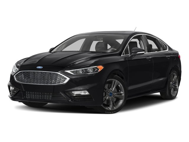 2018 Ford Fusion Base Price Sport AWD Pricing side front view