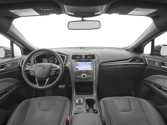 2018 Ford Fusion Base Price Sport AWD Pricing full dashboard