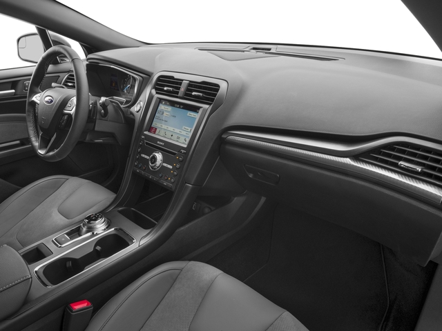 2018 Ford Fusion Base Price Sport AWD Pricing passenger's dashboard