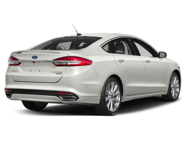 2018 Ford Fusion Prices and Values Sedan 4D Titanium I4 Turbo side rear view