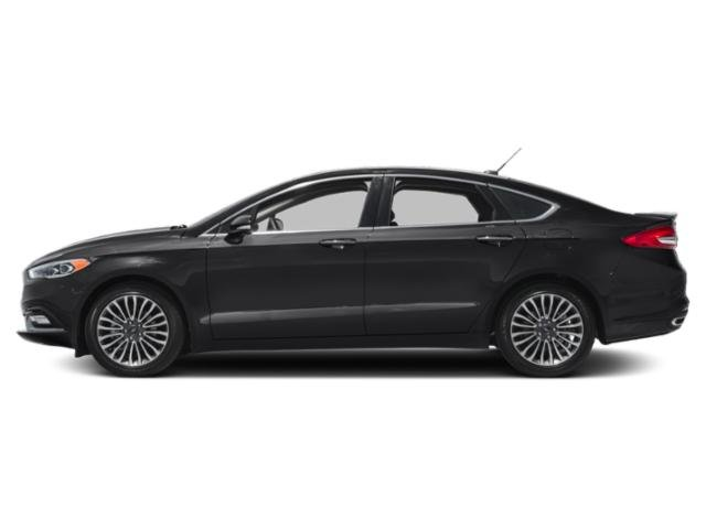 2018 Ford Fusion Prices and Values Sedan 4D Titanium I4 Turbo side view