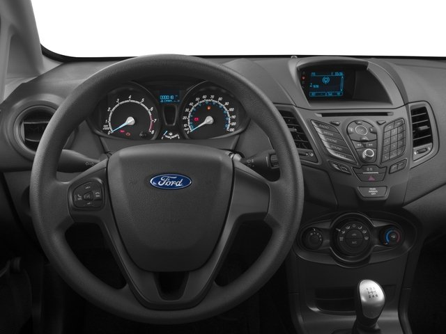 2018 Ford Fiesta Base Price S Sedan Pricing driver's dashboard