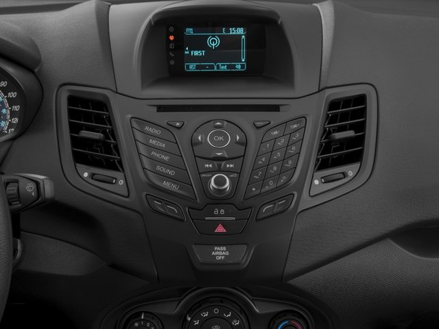 2018 Ford Fiesta Base Price S Sedan Pricing stereo system