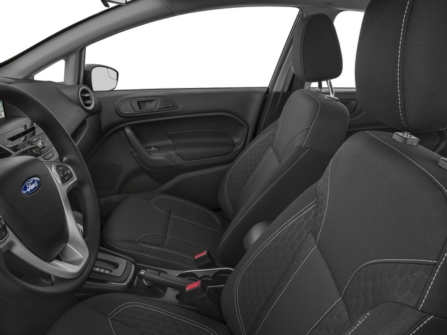 2018 Ford Fiesta Pictures Fiesta SE Hatch photos front seat interior