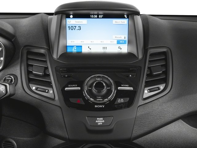 2018 Ford Fiesta Pictures Fiesta ST Hatch photos stereo system