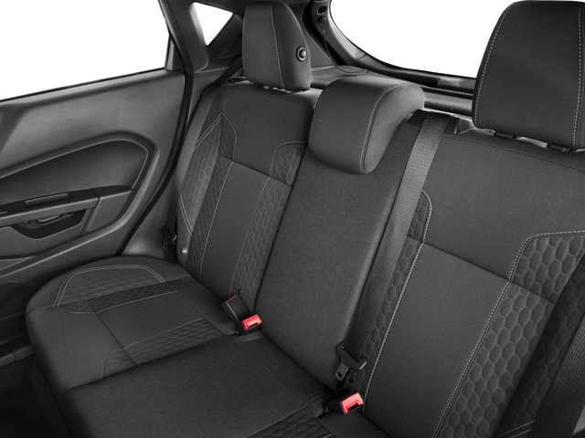 2018 Ford Fiesta Pictures Fiesta ST Hatch photos backseat interior
