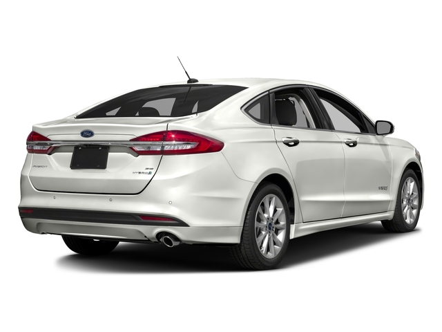 2018 Ford Fusion Hybrid Pictures S Fwd Photos Side Rear View