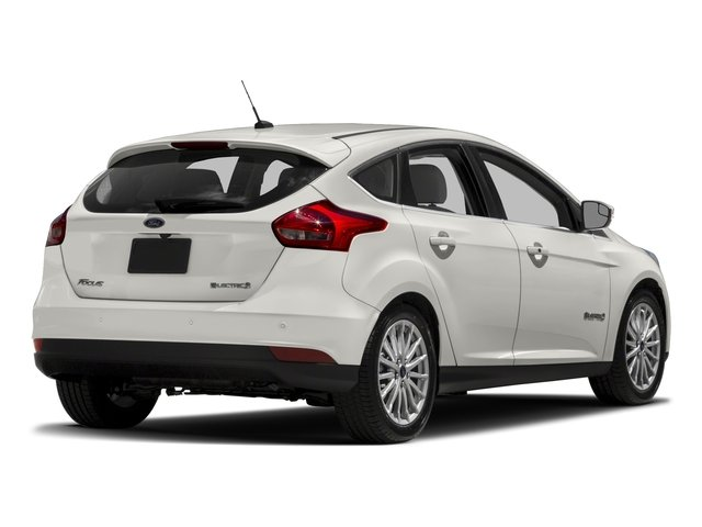 2018 Ford Focus Prices and Values Hatchback 5D Electric side rear view