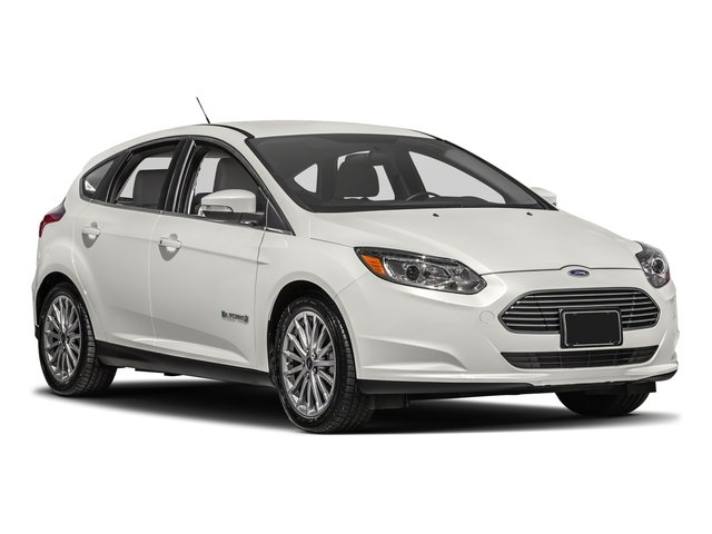 2018 Ford Focus Prices and Values Hatchback 5D Electric side front view