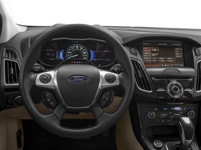 2018 Ford Focus Prices and Values Hatchback 5D Electric driver's dashboard