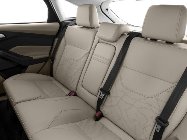 2018 Ford Focus Prices and Values Hatchback 5D Electric backseat interior