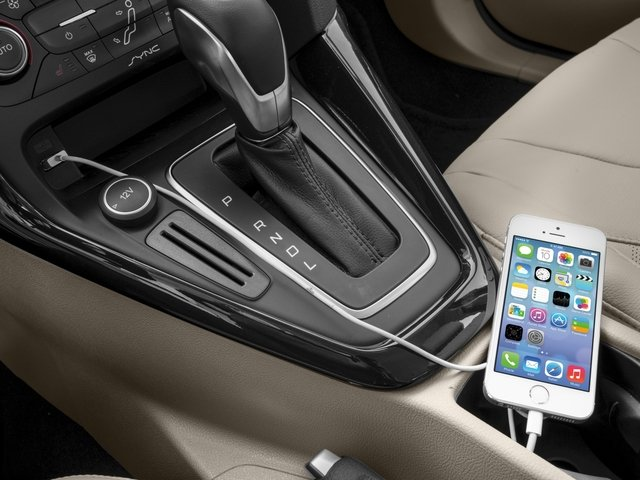 2018 Ford Focus Prices and Values Hatchback 5D Electric iPhone Interface