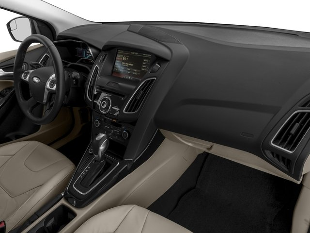 2018 Ford Focus Prices and Values Hatchback 5D Electric passenger's dashboard