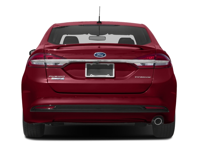 2018 Ford Fusion Energi Base Price Titanium FWD Pricing rear view
