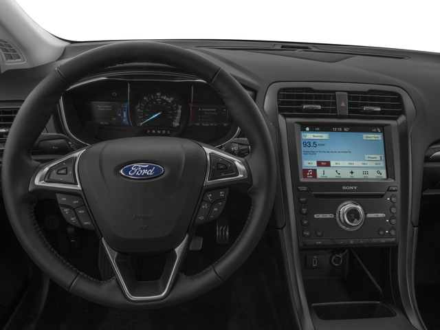 2018 Ford Fusion Energi Base Price Titanium FWD Pricing driver's dashboard