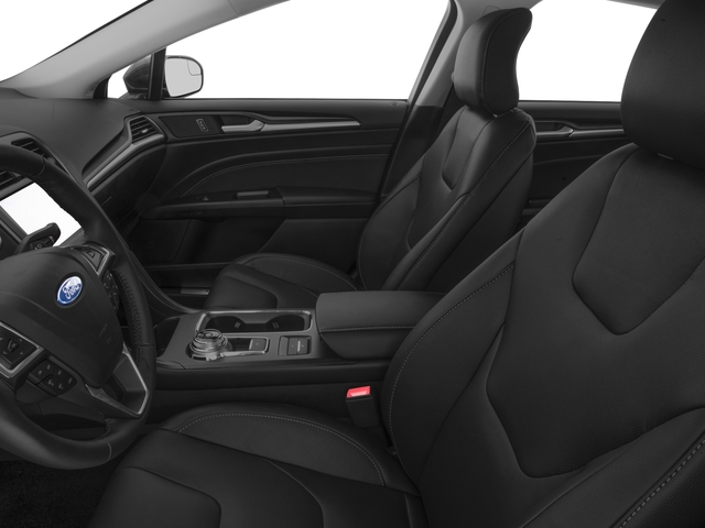 2018 Ford Fusion Energi Base Price Titanium FWD Pricing front seat interior