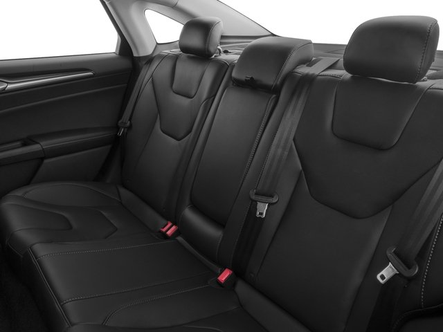 2018 Ford Fusion Energi Base Price Titanium FWD Pricing backseat interior