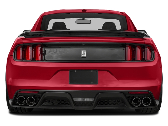 2018 Ford Mustang Base Price Shelby GT350 Fastback Pricing rear view