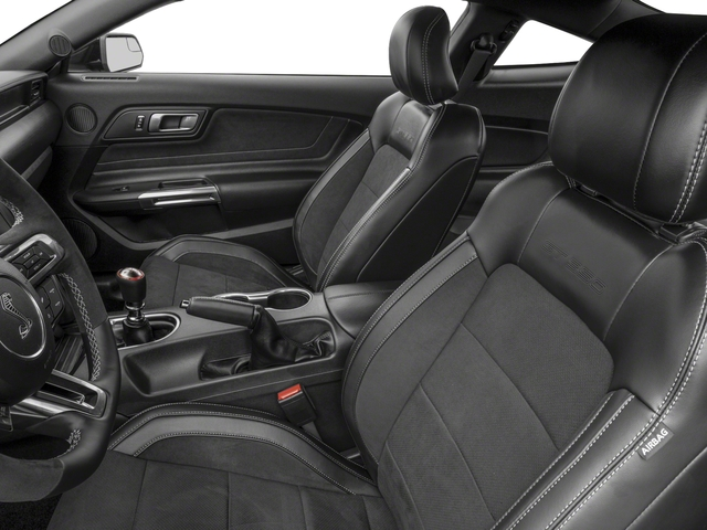 2018 Ford Mustang Base Price Shelby GT350 Fastback Pricing front seat interior