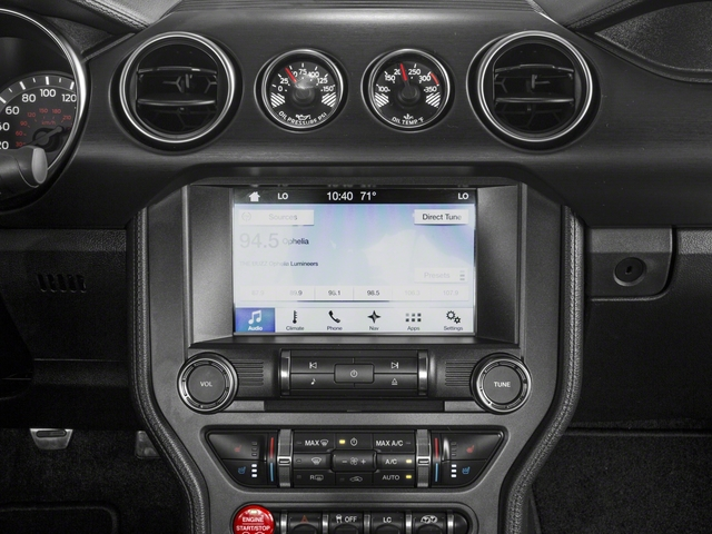 2018 Ford Mustang Base Price Shelby GT350 Fastback Pricing stereo system