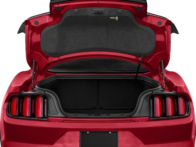 2018 Ford Mustang Base Price Shelby GT350 Fastback Pricing open trunk