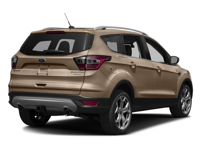 2018 Ford Escape Base Price Titanium 4WD Pricing side rear view