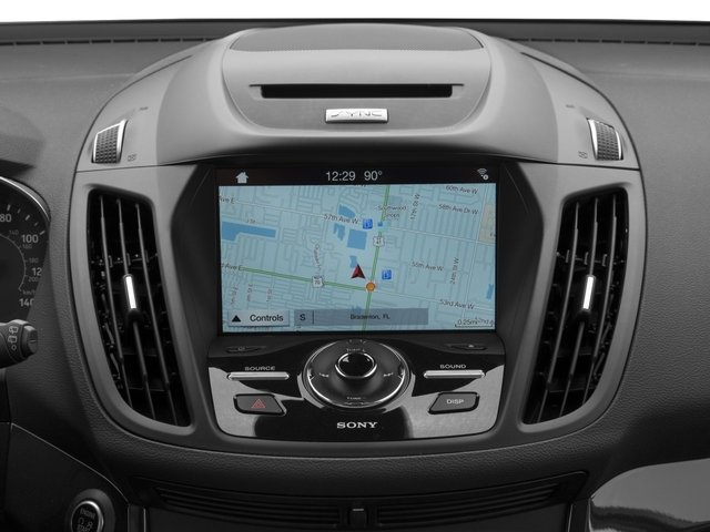 2018 Ford Escape Base Price Titanium 4WD Pricing navigation system