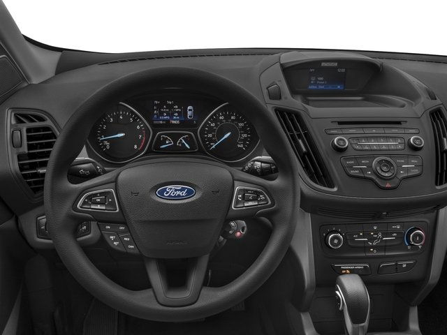 2018 Ford Escape Prices and Values Utility 4D SE EcoBoost 4WD I4 Turbo driver's dashboard
