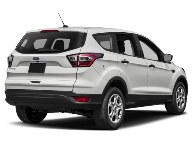 2018 Ford Escape Prices and Values Utility 4D SE EcoBoost 4WD I4 Turbo side rear view