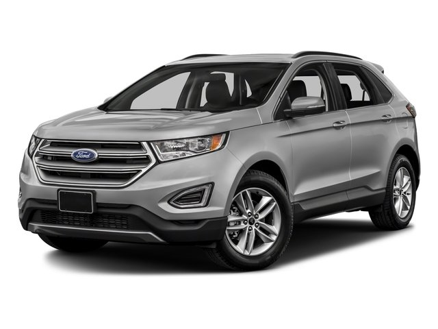 2018 Ford Edge Pictures Edge Utility 4D SEL AWD I4 Turbo photos side front view