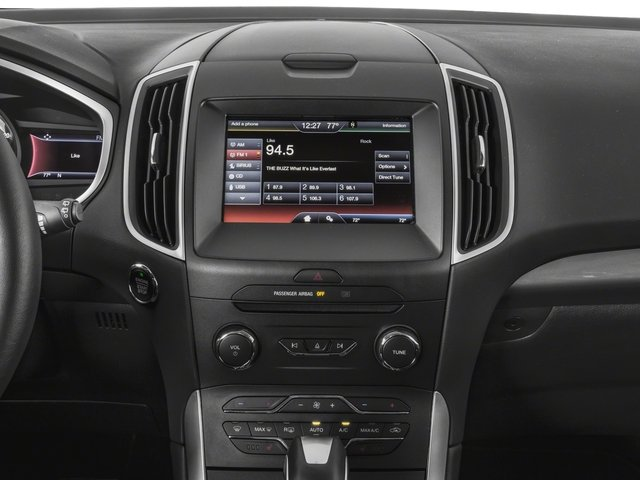 2018 Ford Edge Base Price Titanium FWD Pricing stereo system