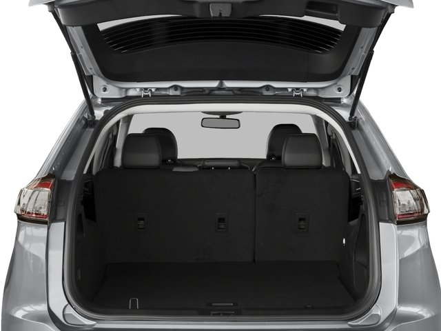 2018 Ford Edge Base Price Titanium FWD Pricing open trunk